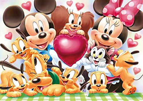 200ピース ジグソーパズル ディズニー みんなでハイ、チーズ! ! 【写真が飾れるジグソー】