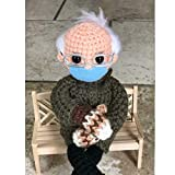 """Crochet your own Bernie Sanders doll! Bernie is approx 9"""" tall. This doll is made to sit. (May need support) The new era, more meaningful souvenirs. The perfect gift for your family, friends, or colleagues. Suitable for any occasion. The product inve..."""