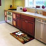 Cushion Comfort Running Chef Kitchen Mat, 18-Inch by 30-Inch