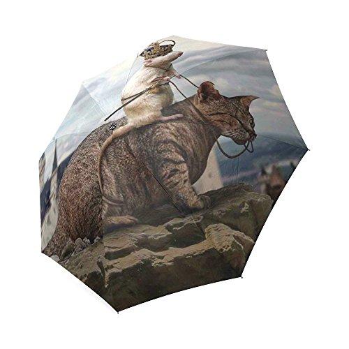 oksty Individuelle Einzigartige Heute Wir Hunt Drachen Falten Regen Regenschirm/Sonnenschirm/Sonnenschirm