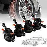 HugeAuto Tuerca de bloqueo rápido para máquina de neumáticos de coche, de 36 mm, 3 mm, equilibrador de ruedas, cambio de neumáticos