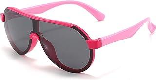 GWQDJ - Gafas De Sol Polarizadas para Niños De 3 a 12 Años.