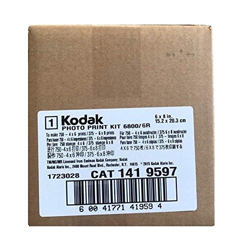 Kodak Photo Print Kit for the 6900/6800 Thermal Printer, 6R - (1419597) - (1024603 new)