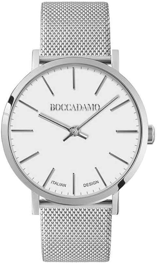 Boccadamo, orologio per donna,in acciaio Mx001