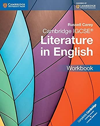 Cambridge IGCSE Literature in English Workbook (Cambridge International IGCSE) by Russell Carey(2015-06-09)