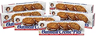 Little Debbie Oatmeal Creme Pies, 6 Boxes, 72 Individually Wrapped Cookies