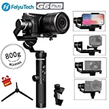 [Christmas Present] Feiyu G6 Plus 3-Axis GoPro Gimbal Stabilizer Splash-proof DSLR Gimbal 12 Hours Running Time for Camera,Smartphone,Action Camera Gopro,Digital Cameras Payload 800g