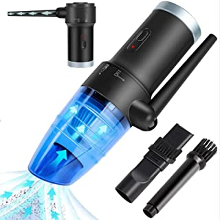 Mini Aspirateur Clavier, 8 Kpa sans Fil Aspirateur Informatique, USB Rechargeable Aspirateur De Bureau pour Ordinateur Por...
