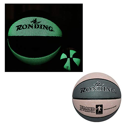 Review Of ANBAI Basketball Ball, Fluorescent Bright After Sun Shine,Pu Glow in The Dark Basketball, ...