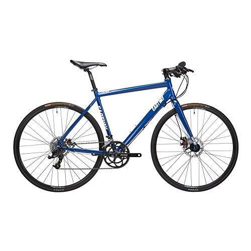 Eastway Fb4.0 Alloy Flat Bar Road Bike - Blue/White, Medium