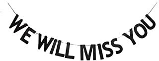 Best we will miss you sign Reviews