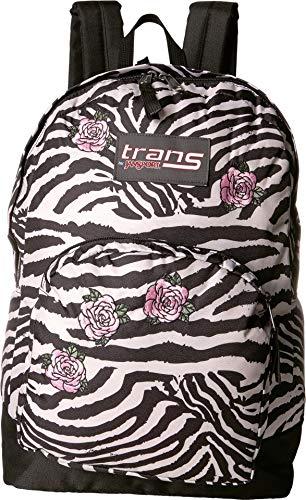 Trans by JanSport 17.5' Overt Backpack - Zebra Rose