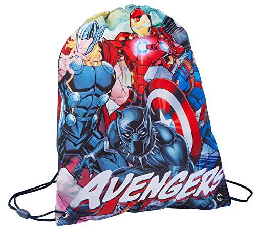 Marvel Avengers Boys Drawstring Gym Bag