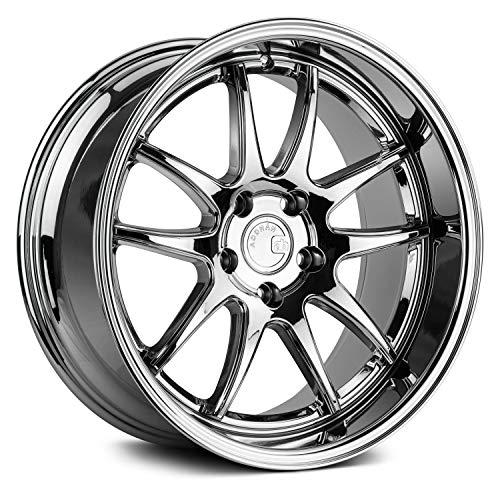 AodHan Wheels Rim DS-02 18x9.5 5x114.3 73.1CB +22 Vacuum Chrome