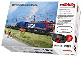 Starter kit treno merci svizzero H0 di SBB Cargo Märklin 29861