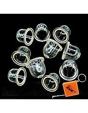 HURI 10x brandstofpomp carburateur primer pomp voor kettingzaag motorzagen Blowers Trimmer trimmer 22mm Vervangt ZAMA 0057003/0057004 / STIHL 4226 121 2700