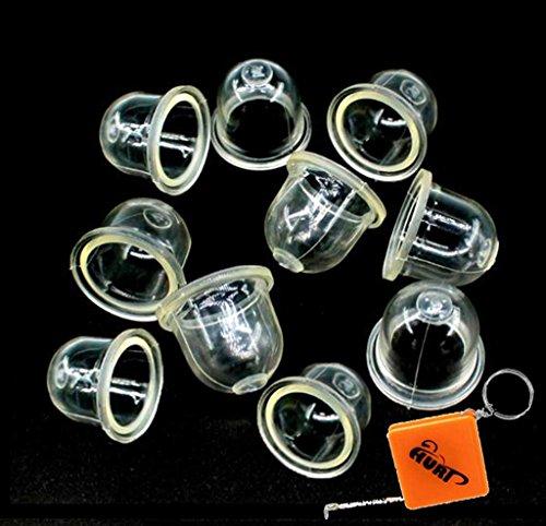 HURI 10x Kraftstoffpumpe Vergaser Primer Birne Pumpe für Kettensäge Motorsägen Blowers Trimmer Freischneider 22mm Ersetzt ZAMA 0057003/0057004 / STIHL 4226 121 2700
