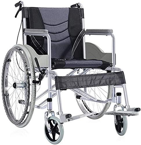 Silla plegable plegable manualmente con un scooter portátil de inodoro para los discapacitados para el tranvía de la rueda trasera de 24 pulgadas de edad avanzada