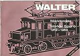 Walter 1986. Marktpreise. Märklin Zubehör. 1924-1954. Mit zahlr. Abb.