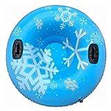 ZYXZXC Tubo De Nieve Pesada,De Nieve Trineo Grande De 47 Pulgadas, Trineo De Nieve Resistente Al FríO con 2 Asas para NiñOs De La Familia,CíRculo De Esquí para Deportes Al Aire Libre