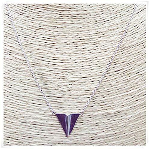 liu zhong fang Sterling Silver Plane Necklace