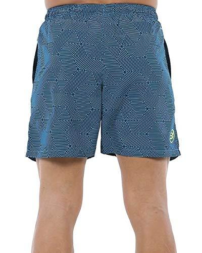 Bullpadel Short Capmani Pantalón Corto, Hombre, Azul Noche, XL