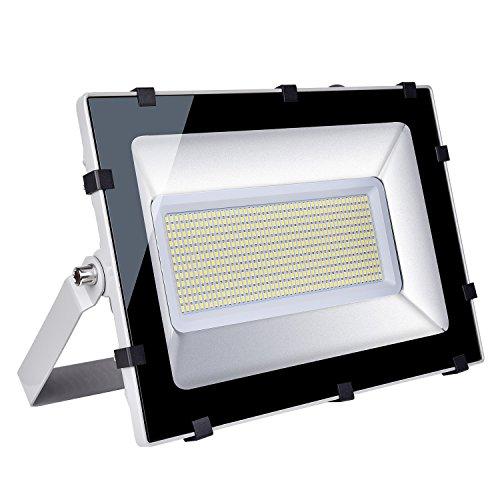 Viugreum® IP65 30W / 150W / 200W / 300W LED Projecteur Lumière - [Classe énergétique A++] - Blanc Chaud (2800-3200K) et Blanc Froid (6000-6600K) - 5F