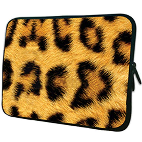 Caodong Multifunktional Notebook-Tasche 15 6 15 13 12 14 10 10 1 9 7 Zoll Tablet PC-Tasche für HP Acer 17 17 3 13 3 11 6 Chromebook-Hülle für Laptops-Leopard_17 Zoll