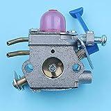 Carburador Carb Compatible con Husqvarna 128C 128CD 128L 128LD 128R 128RJ 128LDX 128DJX 124L 125L 125LD Trimmer Desbrozadora Zama C1Q-W40A
