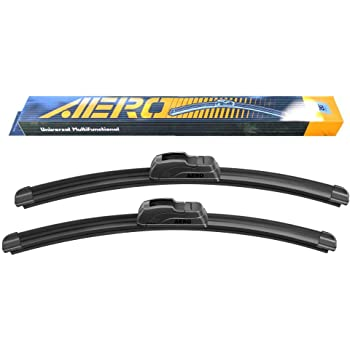 "28/"" and 16/"" Windshield Wiper Blades Premium OEMQuality J-Hook Blades Bracketless"