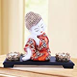 MARINER'S CREATION Baby Buddha Idol for Home Decor House Warming Gift Peace and Harmony