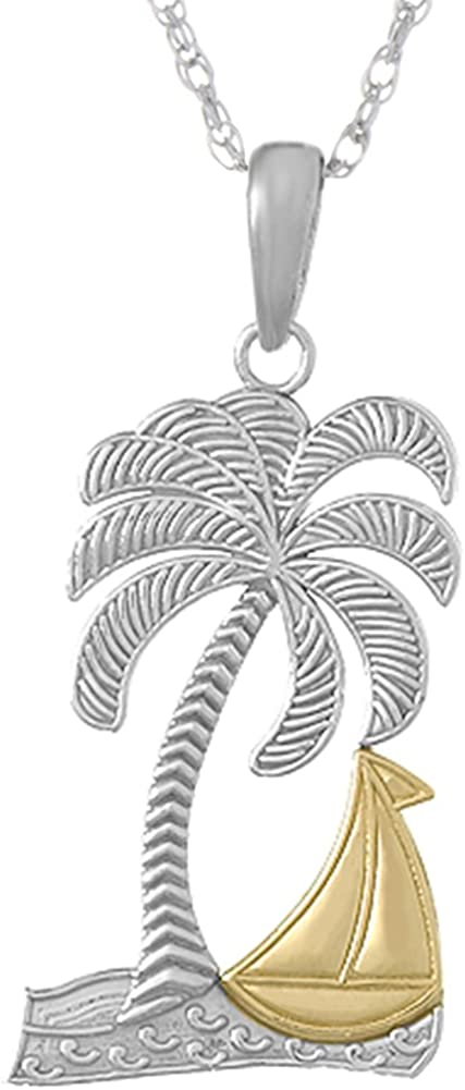 925 Sterling Silver Nautical Necklace Charm Pendant Chain Ultra-Cheap Deals Directly managed store with