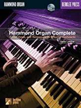 Hammond Organ Complete Tunes Tones And Techniques For Drawbar Keyboards Hammond Organ Complete