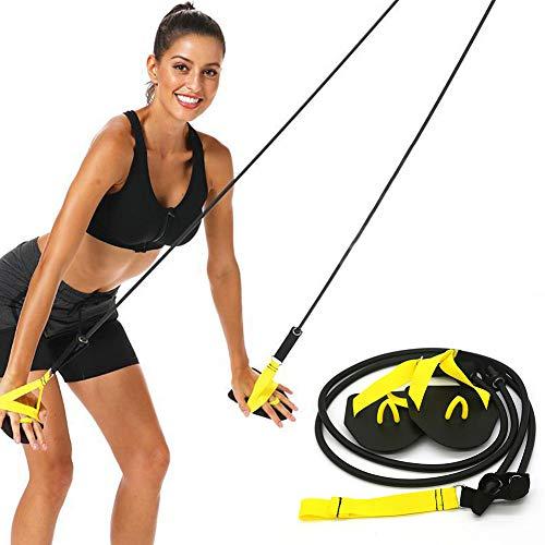 Set di fasce di resistenza per nuotare e allenare le braccia e nuotare, Non null, Giallo, a,20 pound