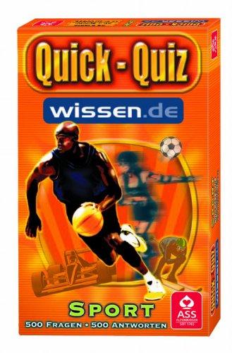ASS Altenburger 09655 - Quick Quiz Wissen.de Sport