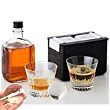 Ice Ball Mold Crystal Clear Ice Ball Maker Large Sphere Ice Duo Trays for...