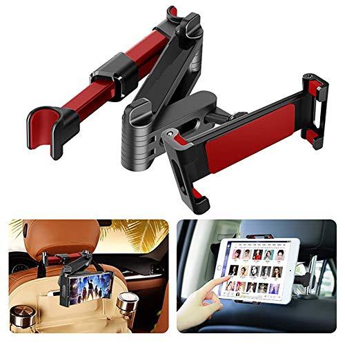 Car Phone Mount, Tablet Car Holder Stand Universal 360 Rotation Bracket Back Seat Car Mount Handrest Car Rear Pillow for Tablet Smart Phone