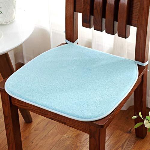 CDDSML Cuscino Sedia a Forma di Zoccolo Cuscino for Sedile Home Decorazioni Cuscino del Sedile con Sedia Bind Pad Ufficio Cuscino Cuscino Cuscino for Computer tampone fott