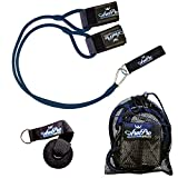 Arm Pro Bands Baseball Softball Resistance Training Bands - Arm Strength, Pitching and Conditioning Equipment, Available in 3 Levels (Youth, Advanced, Elite), Anchor Strap, Door Mount - Kinetic Bands