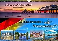 Reise durch Deutschland - Mecklenburg-Vorpommern (Wandkalender 2022 DIN A4 quer): Mecklenburg-Vorpommern, vielseitiges Bundesland und beliebtes Reiseziel im Norden Deutschlands. (Monatskalender, 14 Seiten )