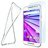 MoEx silicone cover compatible with Motorola Moto G3 | +