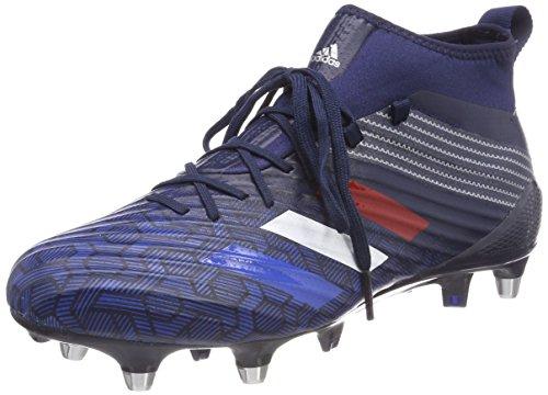 adidas Predator Flare (SG), Chaussures de Football américain Homme, Bleu (Maruni/Azul/Plamet 000), 39 1/3 EU