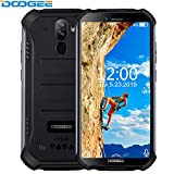 DOOGEE S40 Smartphone - IP68/IP69K Impermeabile Robusto Outdoor Cellulari Offerte Android 9.0 MTK6739 Quad Core Display da 5,5' 3GB+32GB 4650 mAh 8,0 MP Fingerprint Face Sblocco NFC Nero