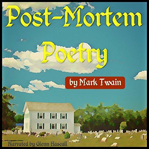 Page de couverture de Post-Mortem Poetry