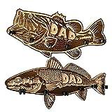 Soporte de Almacenamiento de Madera para Cañas de Pescar de boca Grande, Regalos de Pesca para Bricolaje, Soporte para Cañas de Pescar para Lubinas...