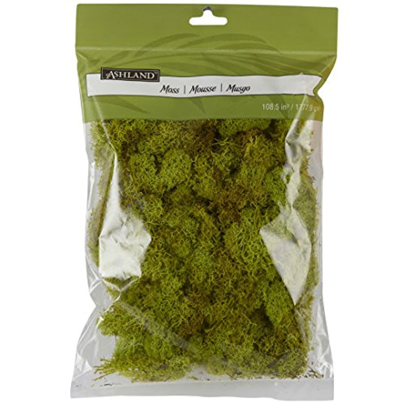 Reindeer Moss, 108.5 cu in in Chartreuse by Ashland