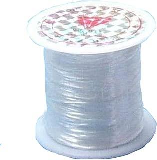 YOYOSTORE 0.5mm Cord Thread String Fish Line Strong Wire Roll Make DIY Scarf Tool 40m Long