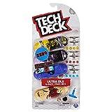 Tech Deck 6028815Pack Finger Skates x4(Modelo Aleatorio)