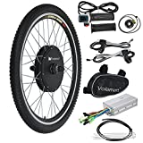 "Voilamart 26"" Front Wheel 48V 1000W Electric Bicycle Conversion Kit E-bike Cycling Brushless"