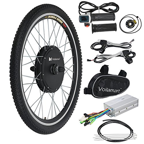 """36V 250W 26/"""" Front Wheel Electric Bicycle Conversion Kit Speed Hub Motor Cycling"""